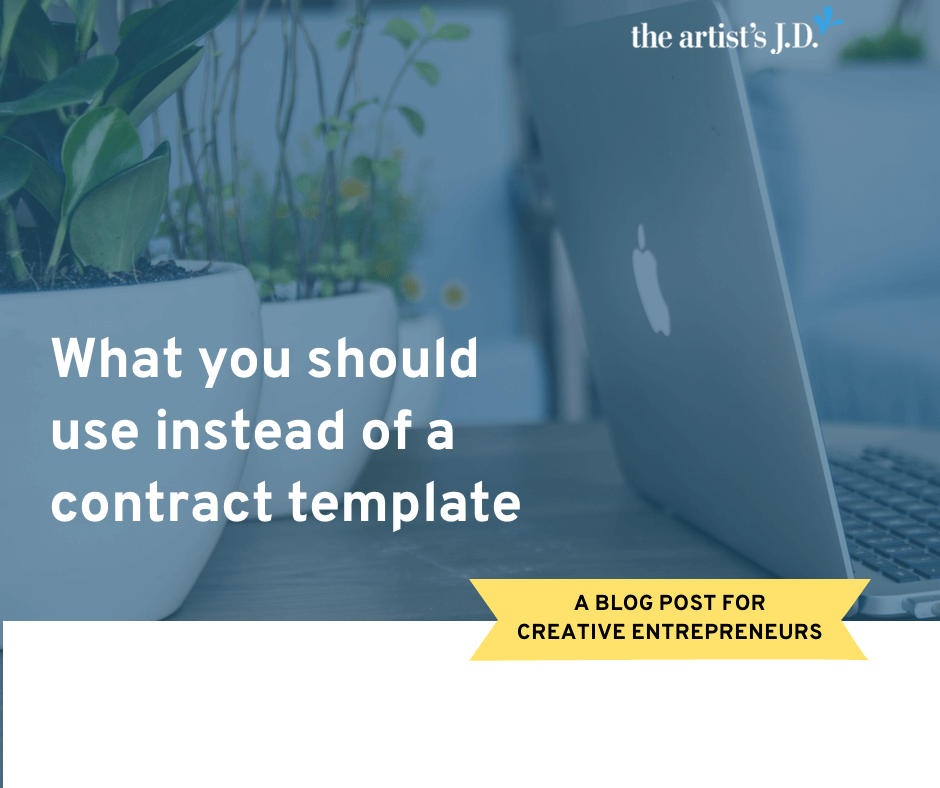I'm not a fan of contract template services. But the solution isn't always hiring a lawyer either. Learn what you should use to create a contract.