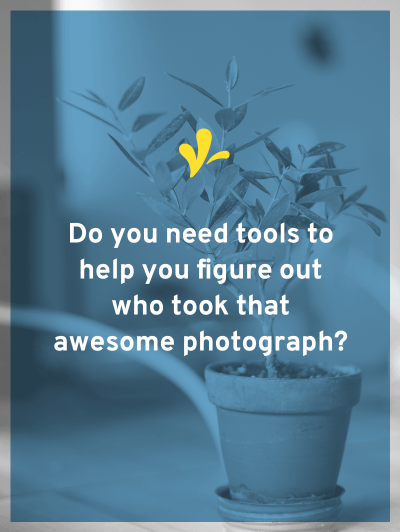 To avoid a nasty letter, we need to know who created that image so we can ask permission to use it. The key to finding the source is a reverse image search.