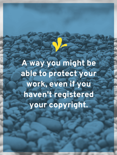 What is copyright management information? Why should you care about it? This little discussed law might help you recover if someone removes the watermark.