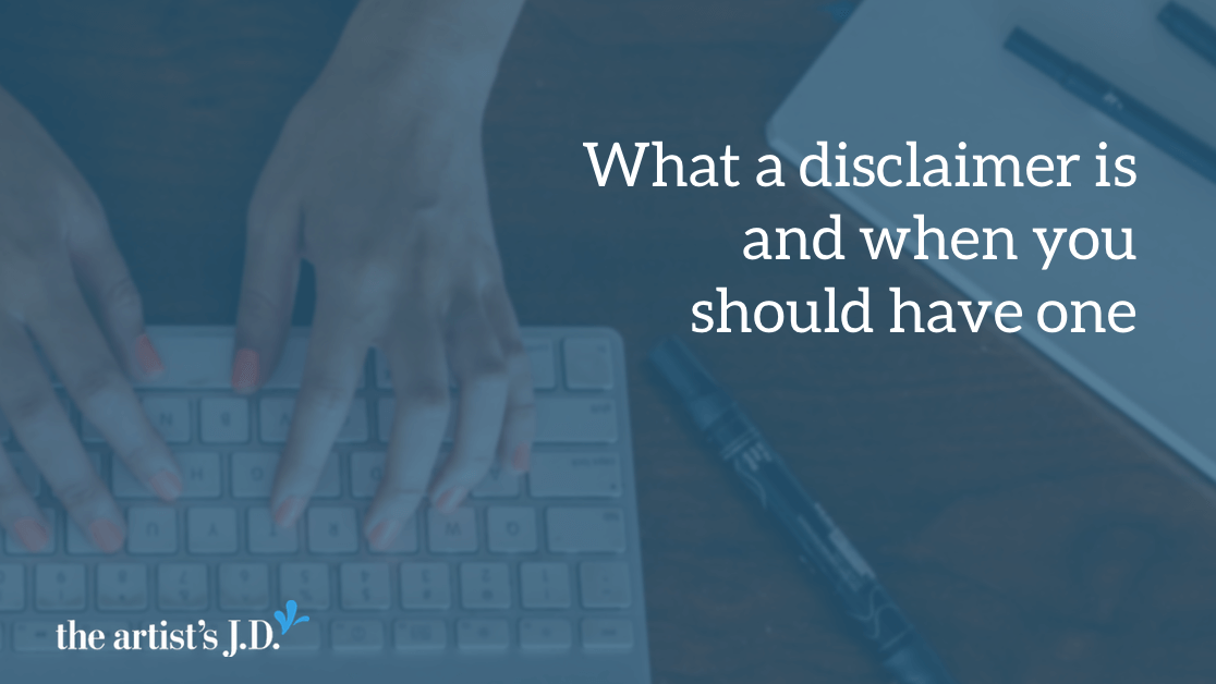 You know that you are supposed to tell readers when you are paid for content on your site, but do you know the other ways a disclaimer can protect you?