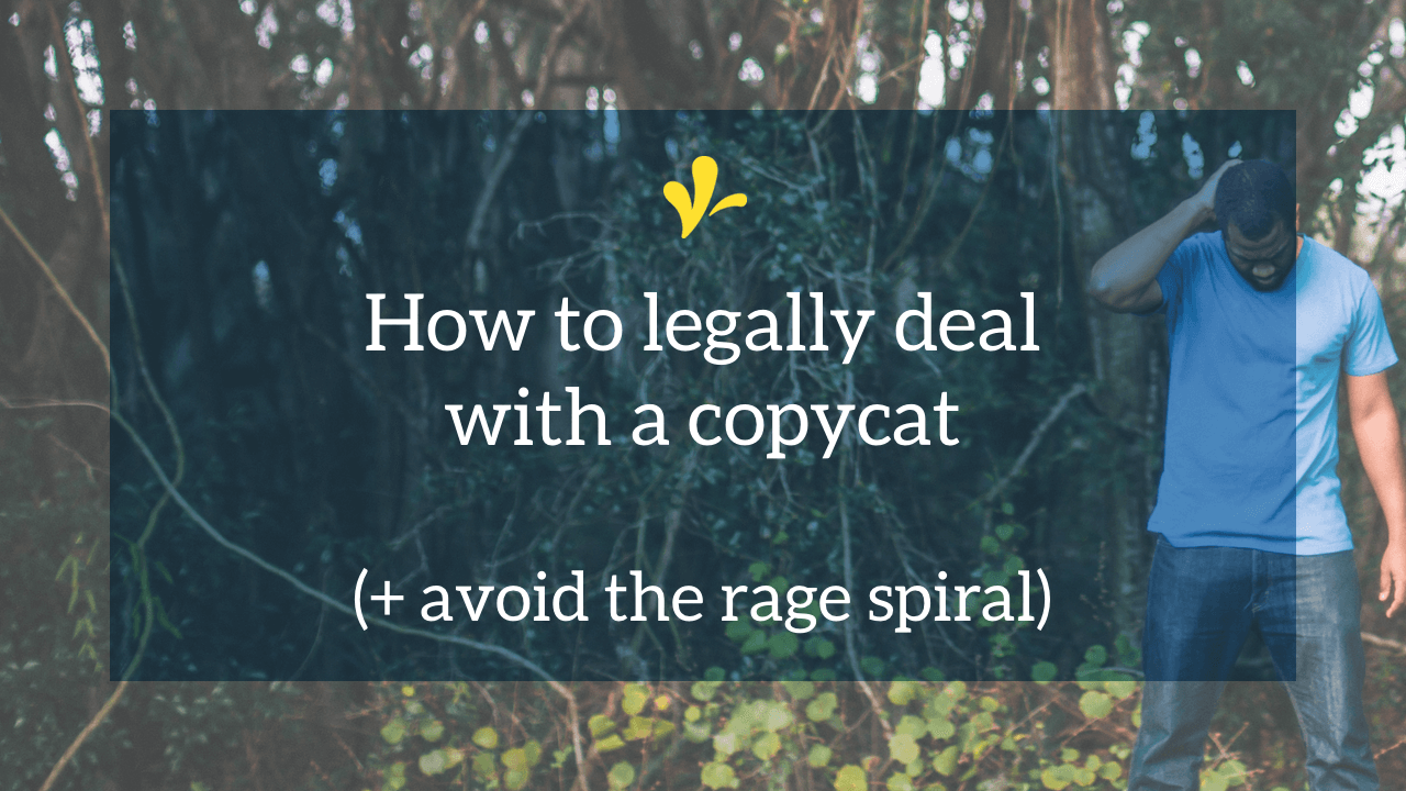 It's not if copycats will use your work without asking, but when. But do you know when you legally can, can't, and maybe shouldn't do something about it?