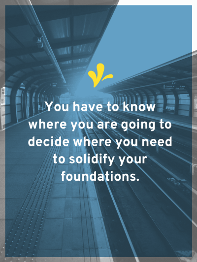 One reason people skip securing their business foundations is because they don't know where they are going or their 5 year vision.