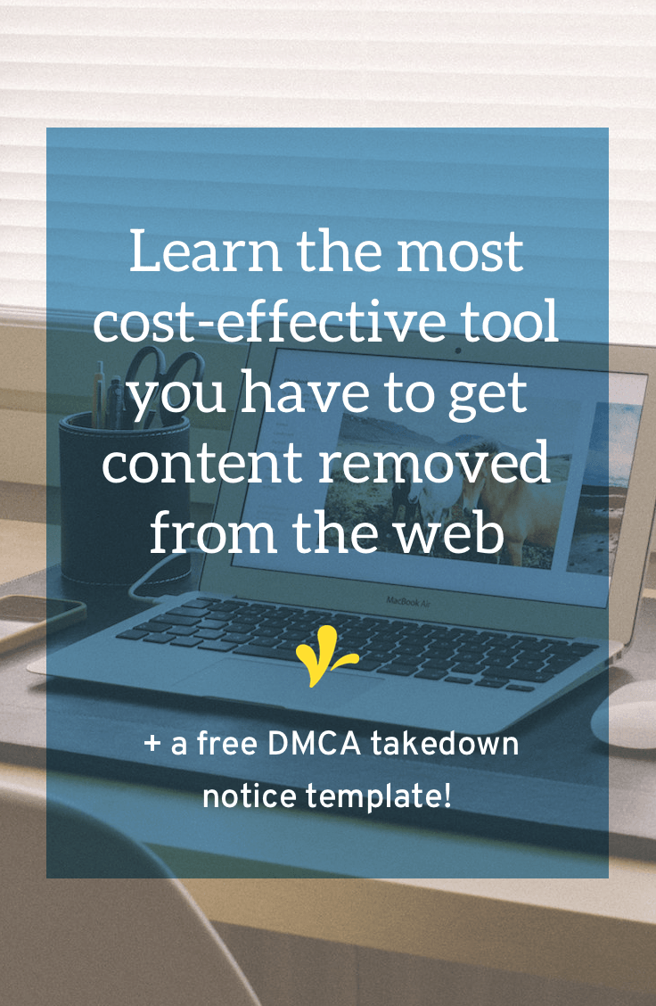 how to send a dmca takedown notice