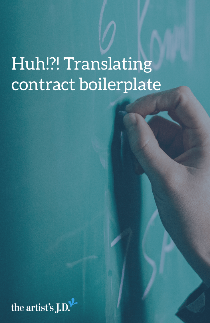On this episode of Kiff Says, we talk about that crazy legalese at the end of every contract AKA the boilerplate language and break down what it means. Click through to watch the video and learn what it means.