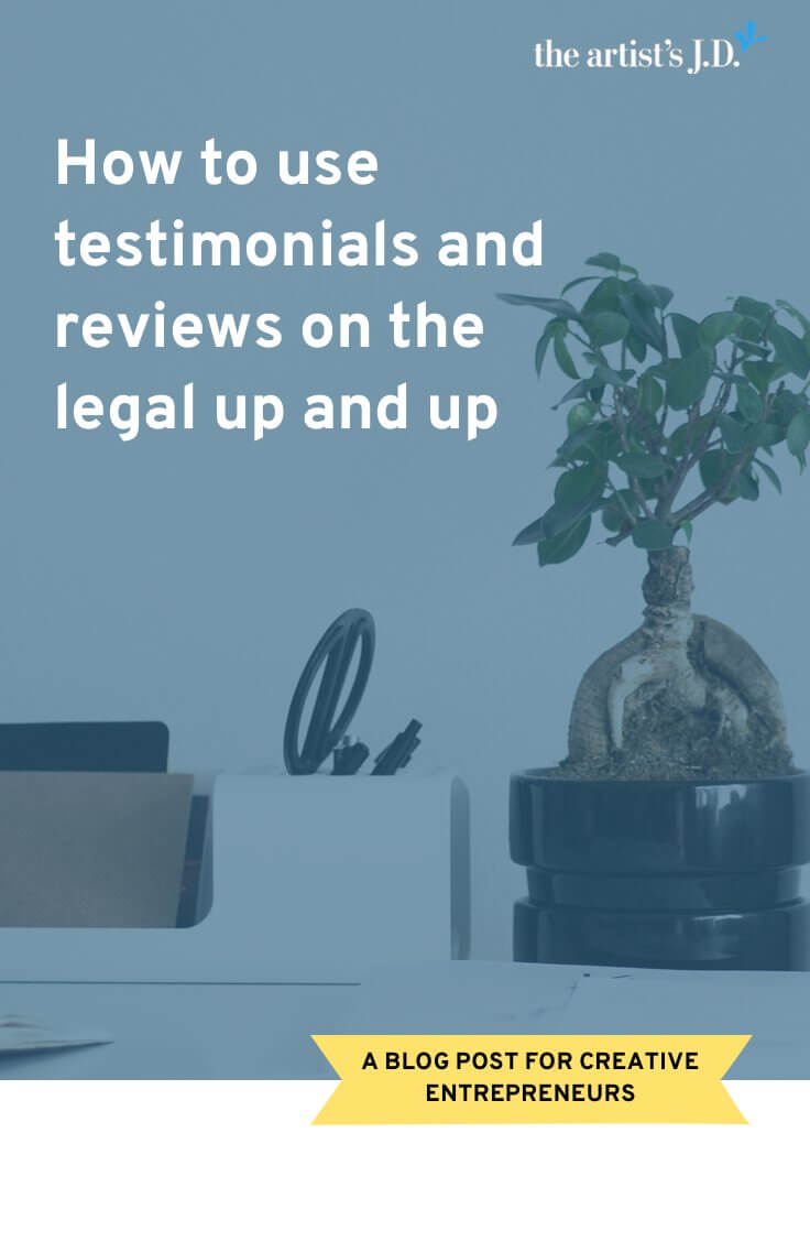 We all know that we should be collecting testimonials because they drive sales. But do you know how you get them and stay on the right side of the law?