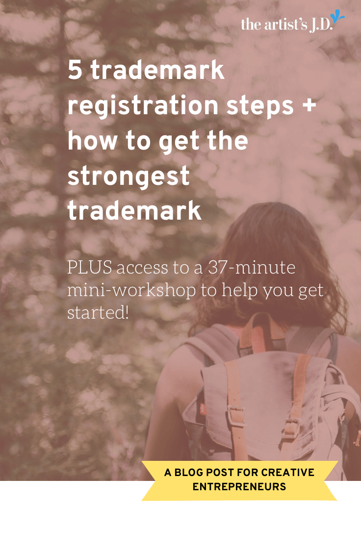 5 trademark registration steps + how to get the strongest trademark