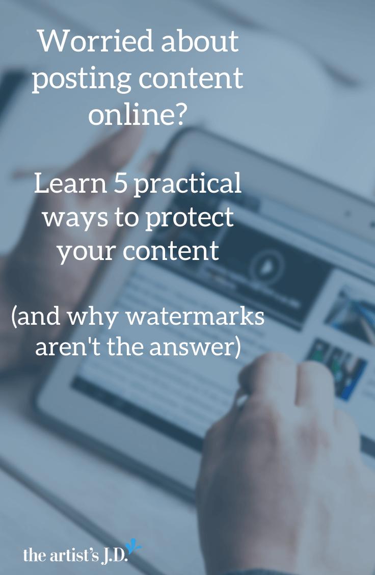 The reality is that anytime you post on the Internet you do it with the knowledge that someone might steal it. Because it's only a matter of time until most good things are stolen or plagiarized. So what can you do? Click through to learn the 5 practical actions you can take.