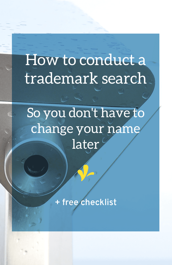 It\'s a pain to do a detailed trademark search. But doing one helps assure you've got a unique name that won\'t infringe on anyone else\'s trademark rights. Click through for step-by-step instructions on performing a trademark search AND download your free checklist to help you complete all the steps.