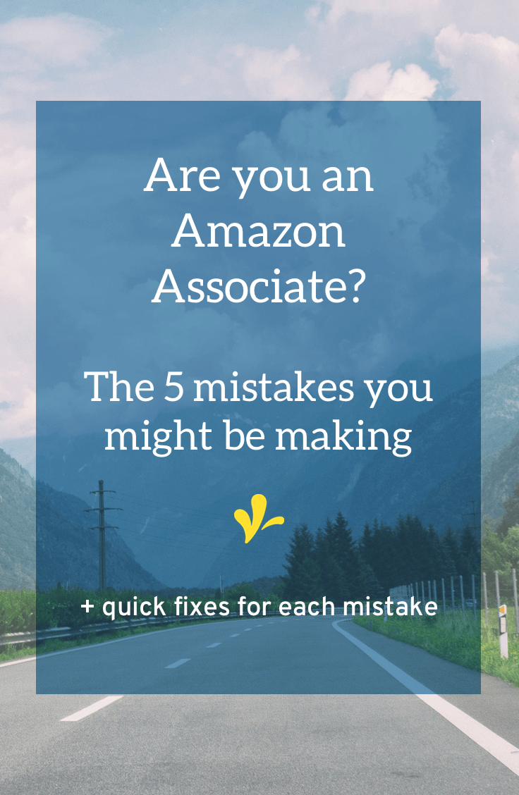 Are you an Amazon Associate affiliate? I know you don't want to pour through the rules, so I did. Click through to learn the five mistakes you might be making and a quick fix for each of them.