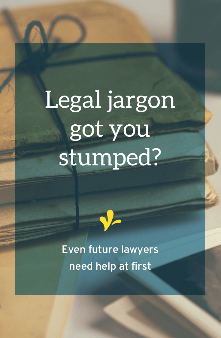 No one is born knowing legalese. Even future lawyers need a legalese translator. Click through to read the story of how I learned legal jargon and the solution I\'m creating to help your creative business understand legalese.