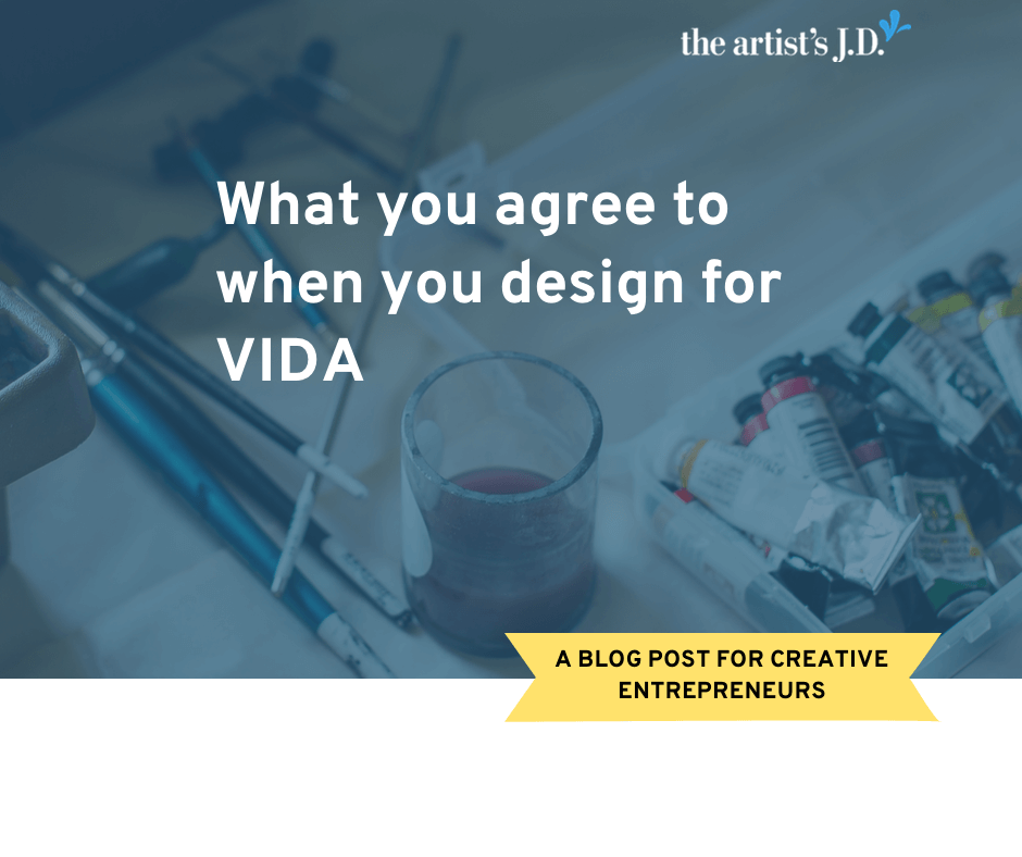 Have you been approached by VIDA about designing for them? What you should know before you submit your designs to their platform.