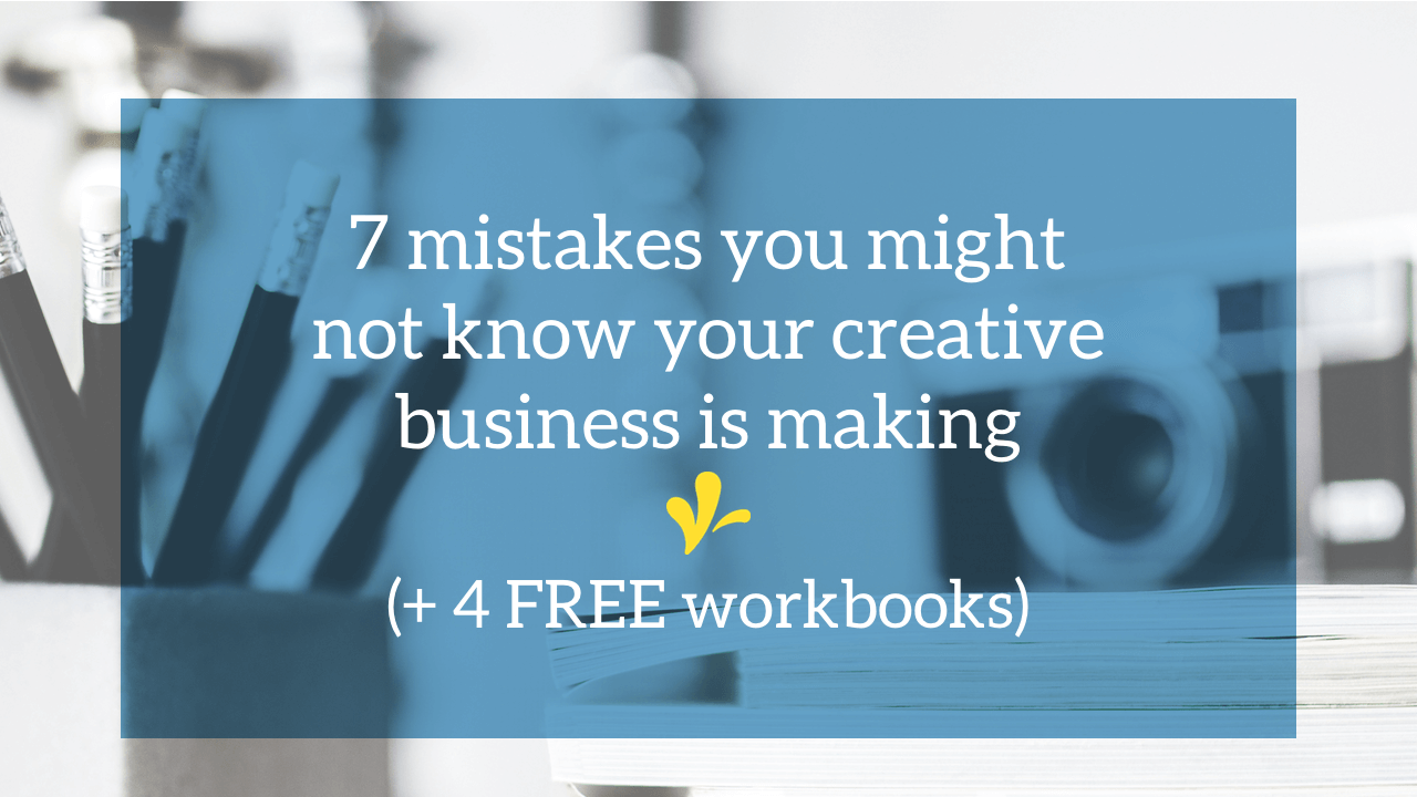 I've seen a lot of creative businesses fail to survive. And there are 7 common business mistakes that you should avoid to help your business thrive.