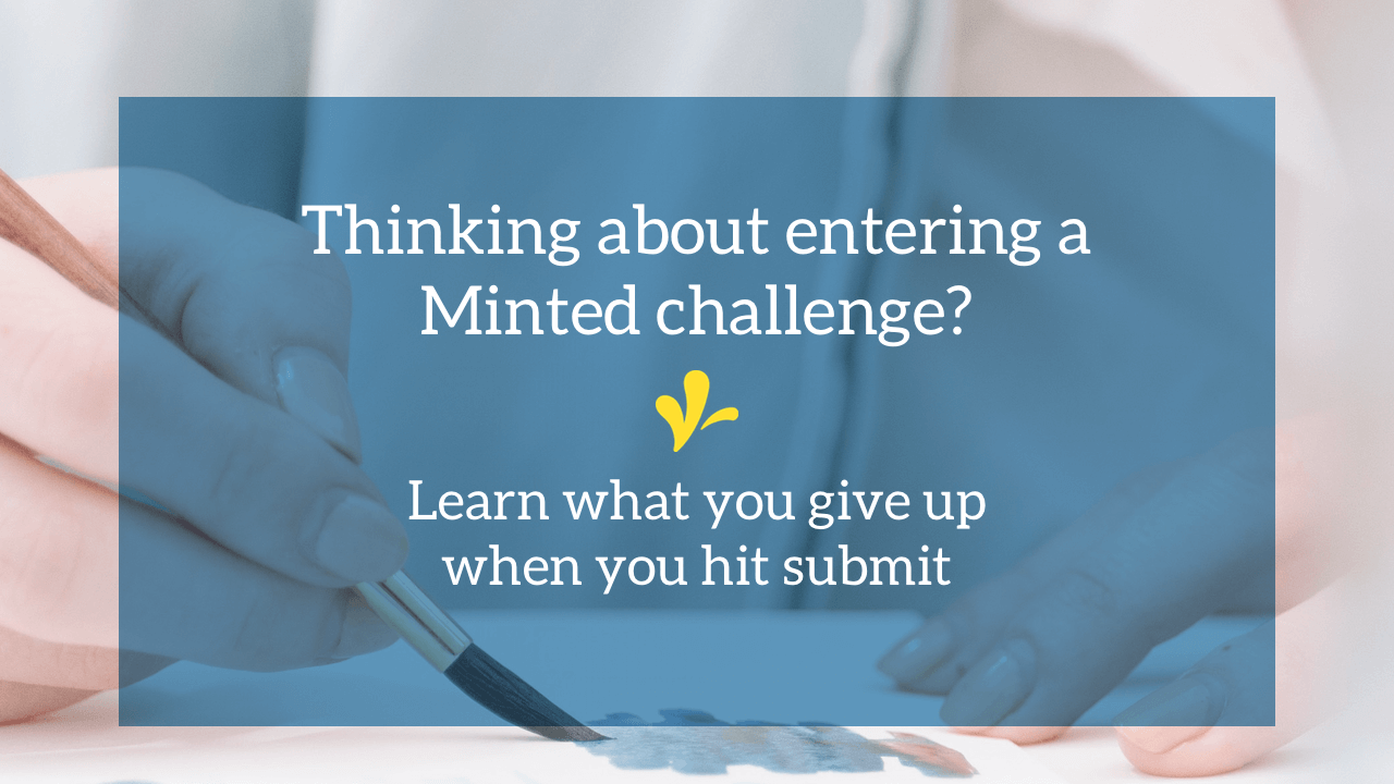 Thinking about entering a Minted challenge? There are 3 reasons you might want to be leery of hitting the submit button. Click through to learn them.