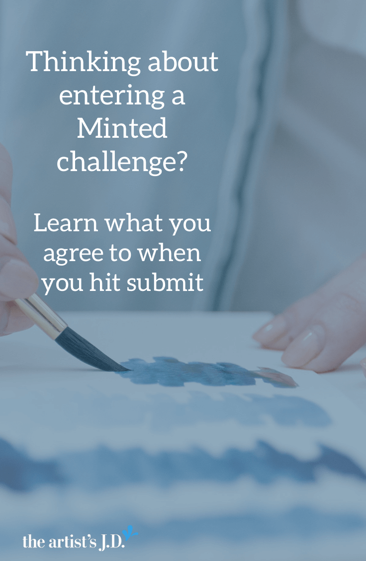Thinking about entering a Minted challenge? When you submit your design, you agree to a host of terms. And there are 3 reasons you might want to be leery of hitting the submit button. Click through to read what they are.