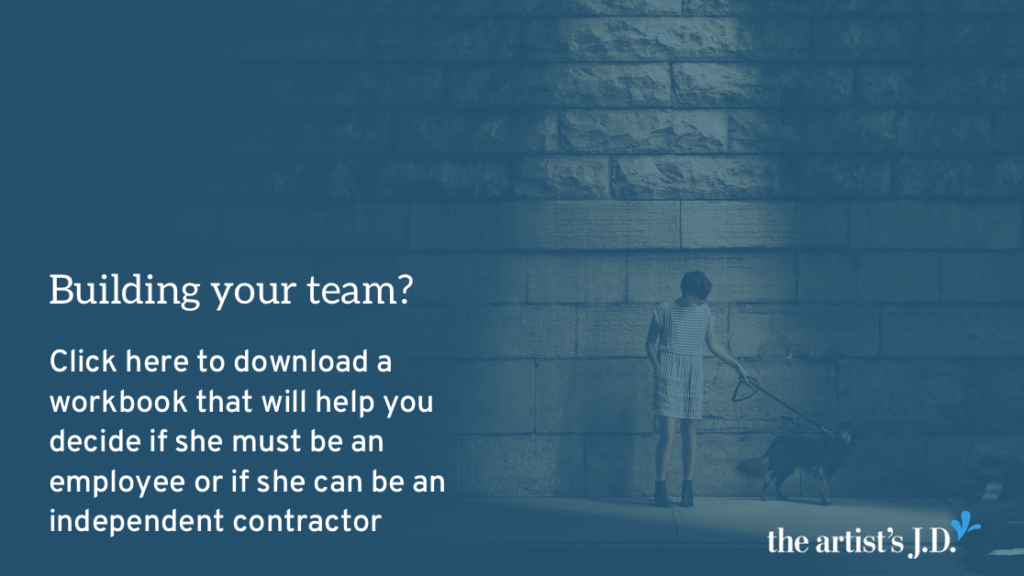 Are you trying to decide what classification you need to give your team member? Enter your email to download a workbook that will walk you through the questions you need to answer to make that decision.