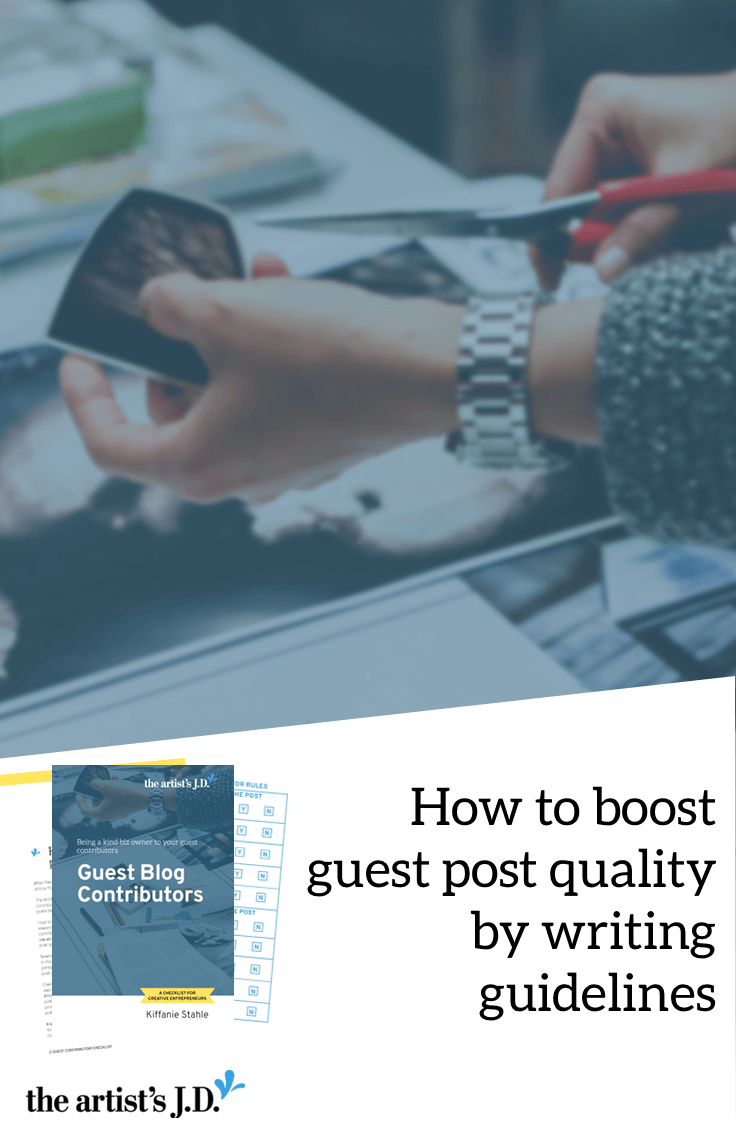 If you accept guest posts on your blog, you probably know that certain factors make a post successful. Transfer this knowledge early on to your potential guest contributors by putting together guest post guidelines for them to follow. Plus grab a free worksheet you can use when putting together guidelines for your guest contributors.