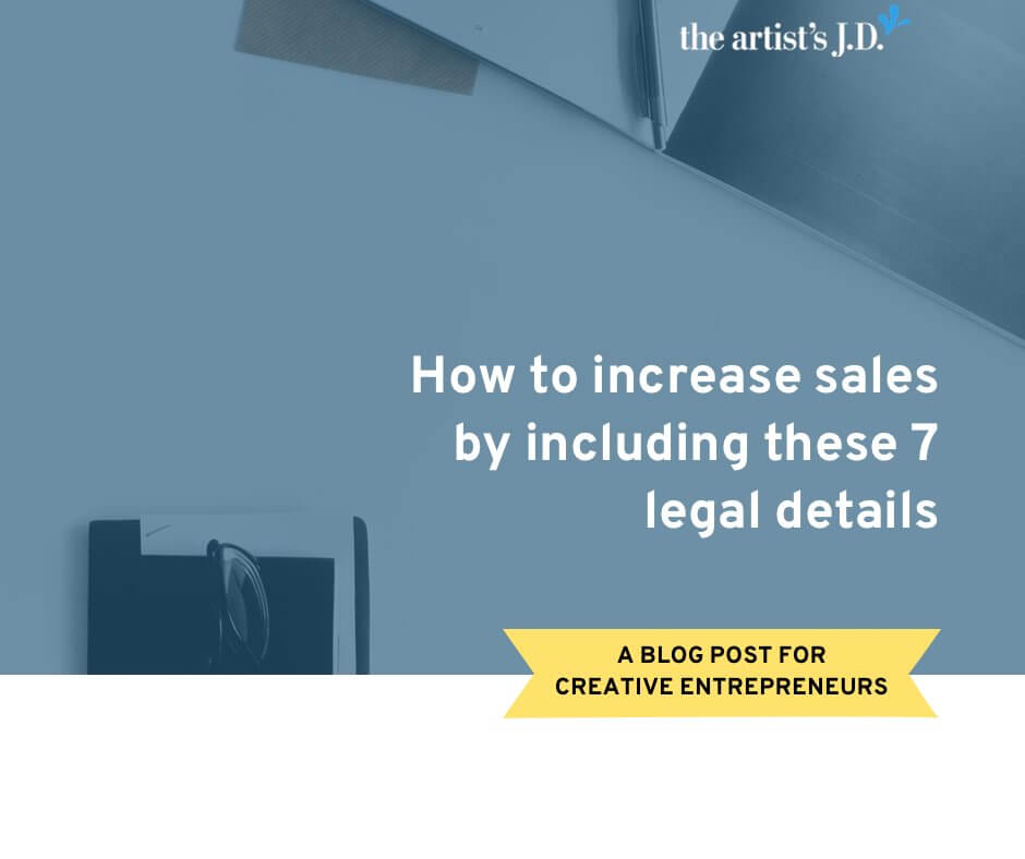 Legal details consciously and unconsciously add trust and transparency to your website and can increase sales. But can you add them without legal jargon?