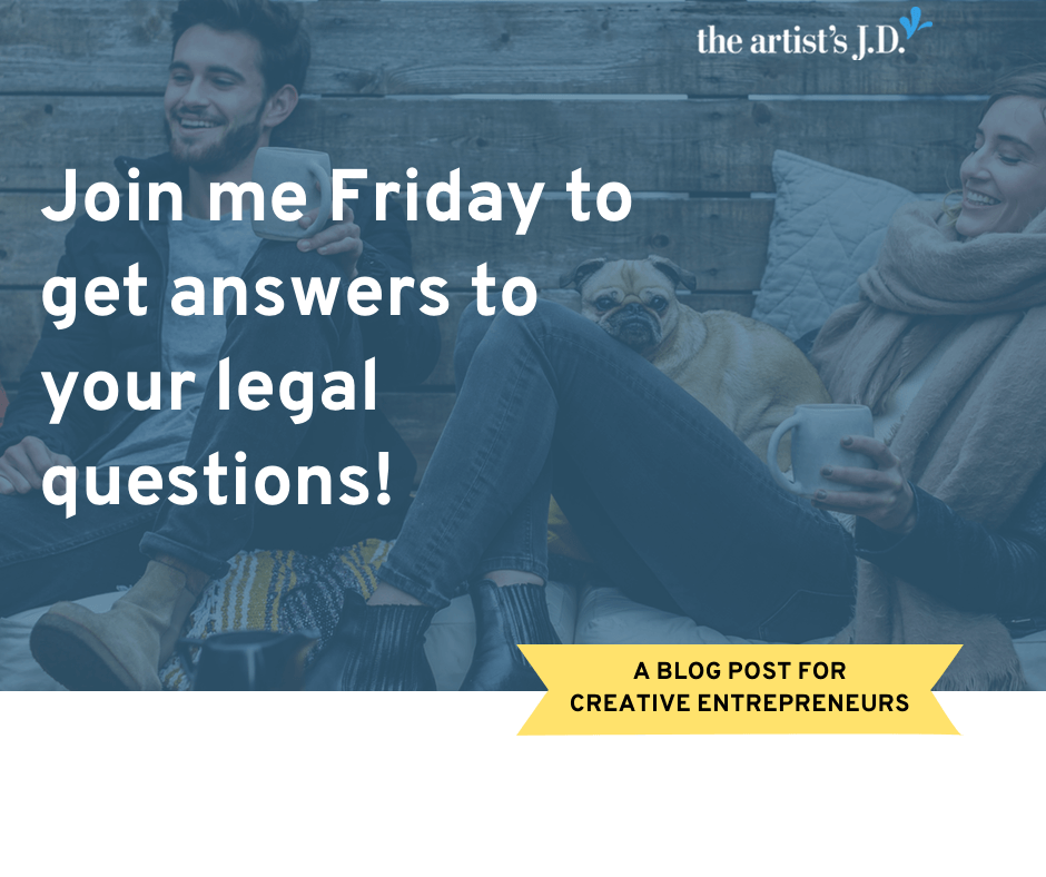 You've got legal questions. Join me for an upcoming In Session to get answers to your legal questions. Curious what they are like? Click through to read past questions!