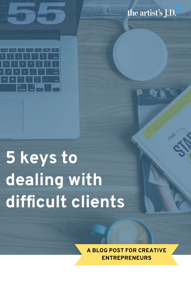 You can't avoid every difficult client. One of the best ways of dealing with difficult clients is to starting your relationship right with these 5 tricks.