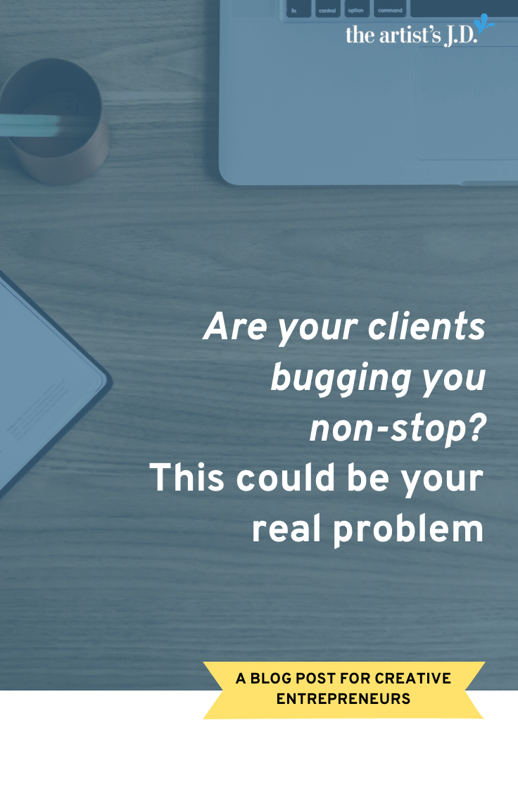 If you've got difficult clients then I encourage you to conduct a self-evaluation and discover if you are part of the problem. And what tweaks you can make.
