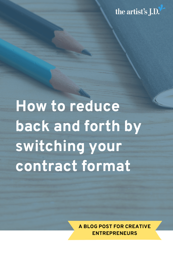 Changing your contract format makes it easier for you and your clients. Learn how this format reduces confusion, questions, and misunderstandings.