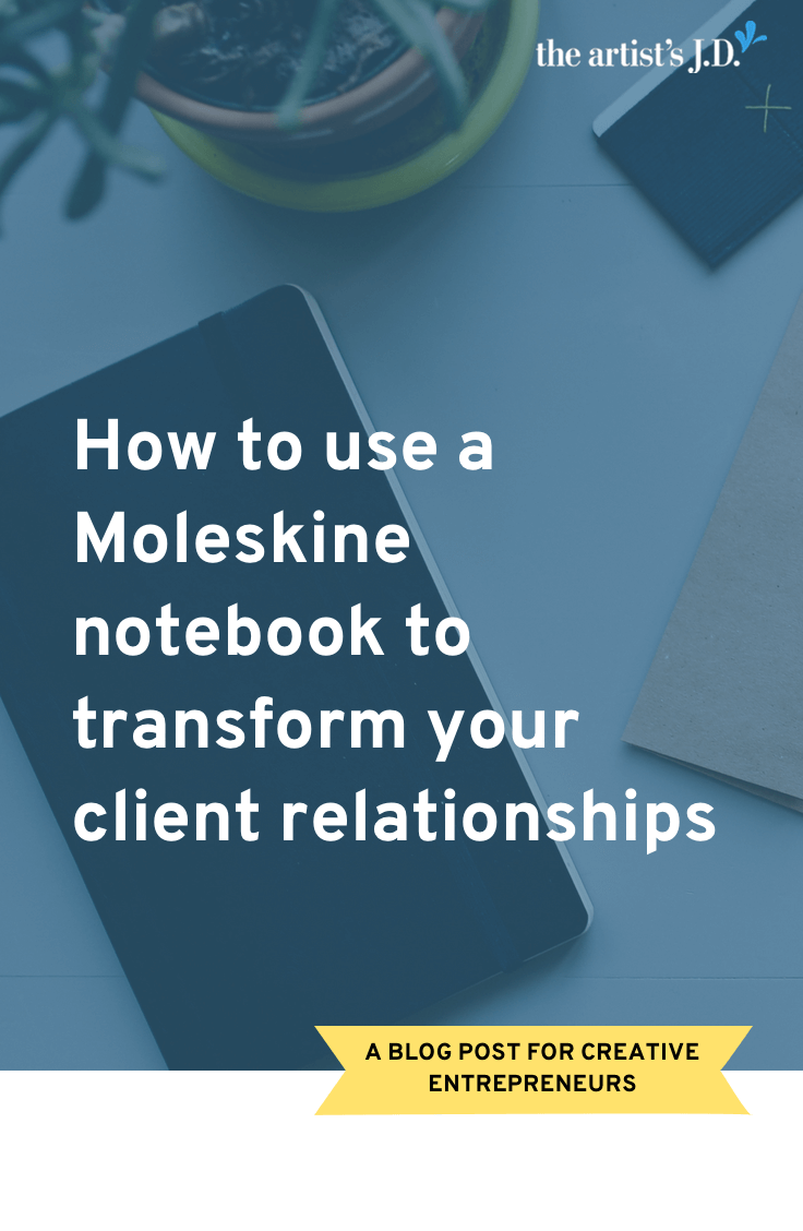 Six years ago, I was given a notebook to record my business mistakes. This notebook has been invaluable and has transformed my client relationships.