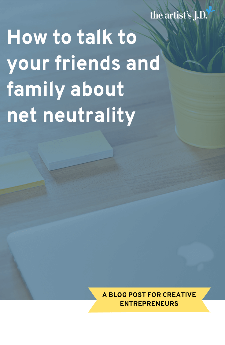 If you are a creative person, you need to care about net neutrality. Your livelihood depends on it. But why should those that don't create care? Learn why.