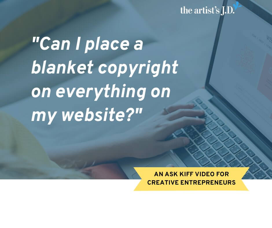 What is a website copyright notice? Does it do any good? How do you create one? Click through to learn the answers in this Ask Kiff video episode.