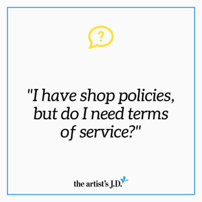 Do you have online shop policies? That's a great first step. But, they probably won't help when something goes wrong. Watch to learn what else you need.