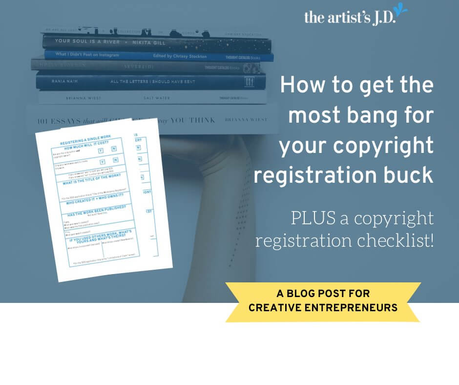 Learn why copyright registration changes fly swatters into baseball bats. Plus learn how to cost-effectively register your copyrights and grab a FREE worksheet!