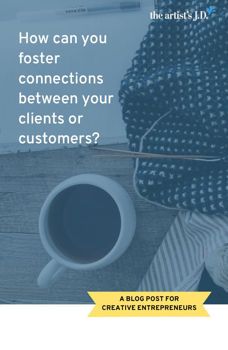 How can you foster connections between your business and your clients or customers? What I learned from my two recent test knitting experiences.