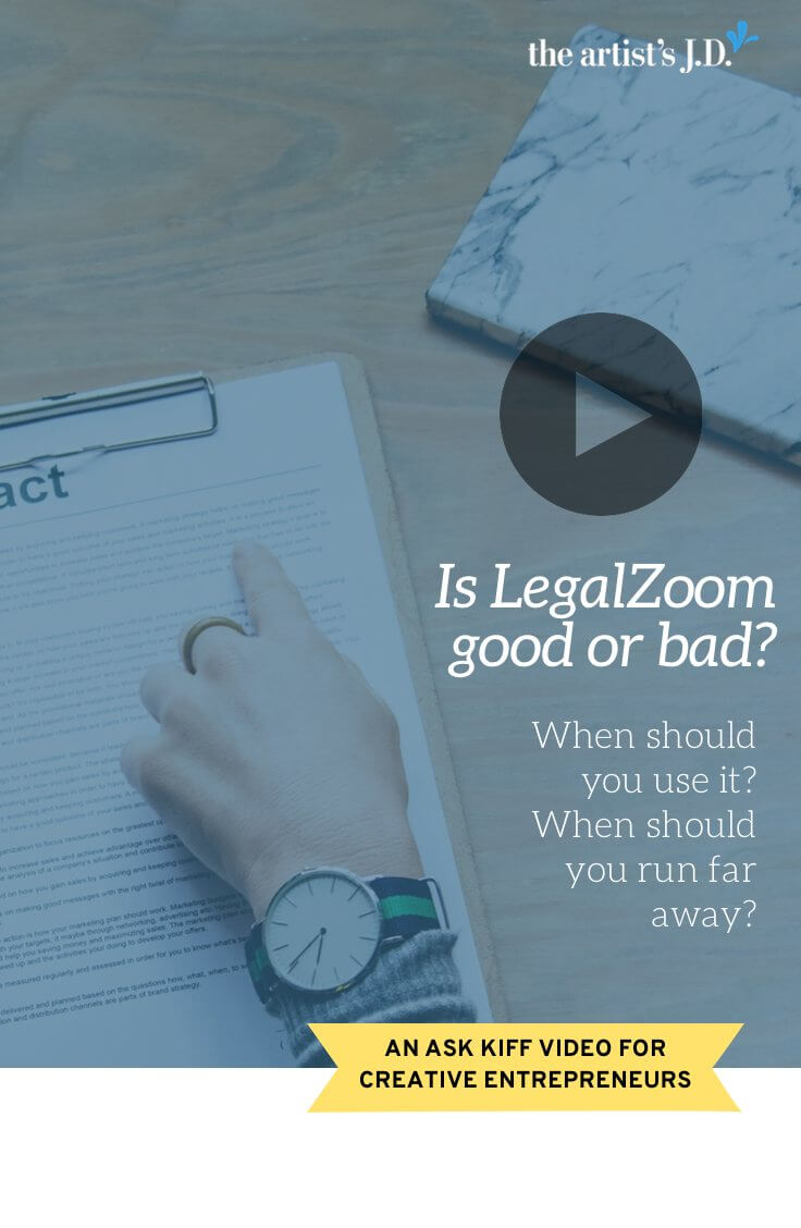 LegalZoom is cheaper than a lawyer, but you've heard good and bad stories. When should you use it? When shouldn't you? Learn how to decide in this video.